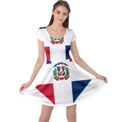 Heart Love Dominican Republic Cap Sleeve Dress