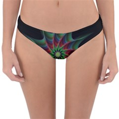 Star Abstract Burst Starburst Reversible Hipster Bikini Bottoms by Celenk