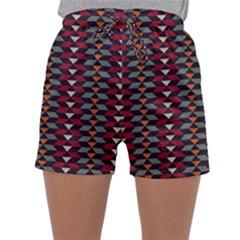 Native American Pattern 23 Sleepwear Shorts by Cveti