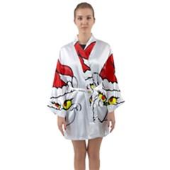 Grinch Long Sleeve Kimono Robe by Valentinaart
