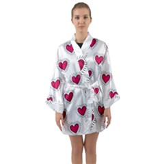 All Cards 09 Long Sleeve Kimono Robe