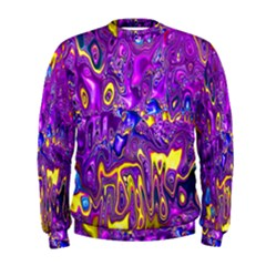 Melted Fractal 1a Men s Sweatshirt by MoreColorsinLife