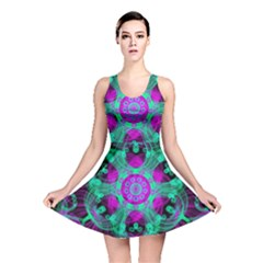 Pattern Reversible Skater Dress by gasi