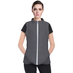 Black Carbon Fiber Women s Puffer Vest