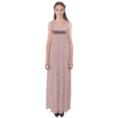 Pattern Empire Waist Maxi Dress by gasi