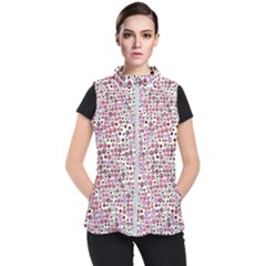 Pattern Women s Puffer Vest by gasi