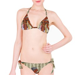 Egyptian Design Man Royal Bikini Set