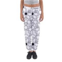 Pattern Zentangle Handdrawn Design Women s Jogger Sweatpants by Celenk