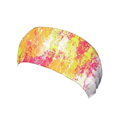 Painting Spray Brush Paint Yoga Headband by Celenk