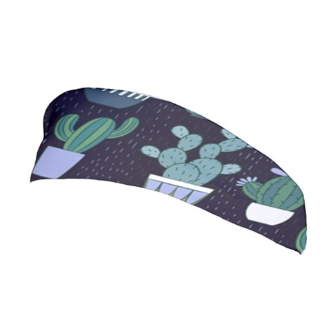 Cactus Pattern Stretchable Headband