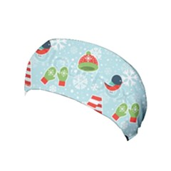 Winter Fun Pattern Yoga Headband by allthingseveryone