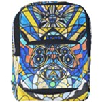 Sirian Solar Invocation Grid - Full Print Backpack