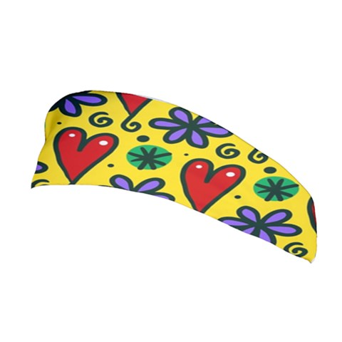 Spring Love Stretchable Headband