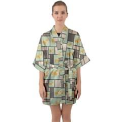 Quirky Corgi Kraft Present Gift Wrap Wrapping Paper Quarter Sleeve Kimono Robe