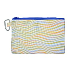 Art Abstract Colorful Colors Canvas Cosmetic Bag (large) by Celenk