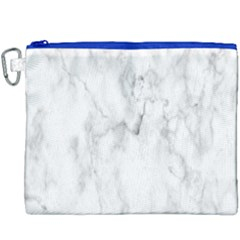 White Background Pattern Tile Canvas Cosmetic Bag (xxxl) by Celenk