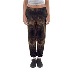 Beads Fractal Abstract Pattern Women s Jogger Sweatpants by Celenk