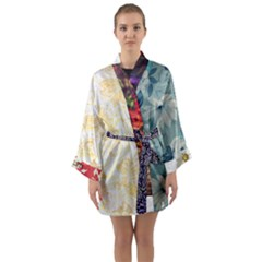 Fl Cl 064a Long Sleeve Kimono Robe by Magdalenomelissa