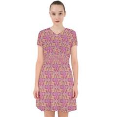 Kaledoscope Pattern  Adorable In Chiffon Dress by Cveti