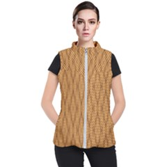 Wood Background Backdrop Plank Women s Puffer Vest by Celenk
