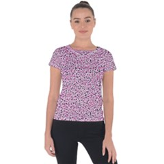 Texture Surface Backdrop Background Short Sleeve Sports Top  by Celenk