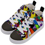 Compatibility - Kid s Mid-Top Canvas Sneakers