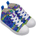 Positive Focus - Kid s Mid-Top Canvas Sneakers View3