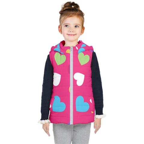 Valentine s Day Pattern Kid s Puffer Vest