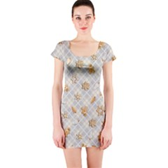 Gingerbread Light Short Sleeve Bodycon Dress by jumpercat
