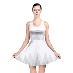 Winter Land Light Reversible Skater Dress