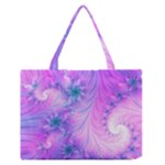 Delicate Zipper Medium Tote Bag