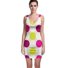 Polka Dots Spots Pattern Seamless Bodycon Dress by Celenk