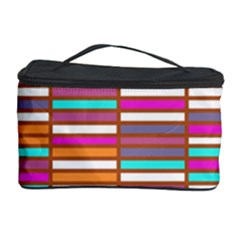 Color Grid 02 Cosmetic Storage Case by jumpercat