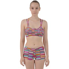 Color Grid 02 Women s Sports Set by jumpercat