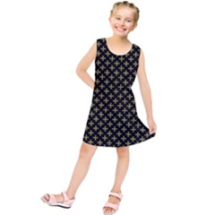 Yellow Cross Kids  Tunic Dress by jumpercat
