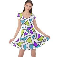Retro Shapes 02 Cap Sleeve Dress by jumpercat