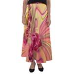 Arrangement Butterfly Aesthetics Flared Maxi Skirt