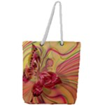 Arrangement Butterfly Aesthetics Full Print Rope Handle Tote (Large)