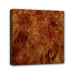 Abstract Flames Fire Hot Mini Canvas 6  x 6