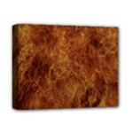 Abstract Flames Fire Hot Deluxe Canvas 14  x 11
