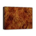 Abstract Flames Fire Hot Deluxe Canvas 16  x 12