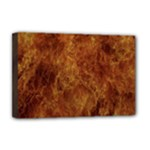 Abstract Flames Fire Hot Deluxe Canvas 18  x 12