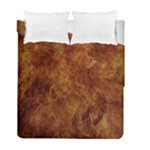 Abstract Flames Fire Hot Duvet Cover Double Side (Full/ Double Size)