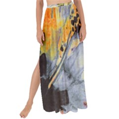 Flower Texture Pattern Fabric Maxi Chiffon Tie Up Sarong by Celenk