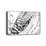 Animal Bird Forest Nature Owl Mini Canvas 6  x 4