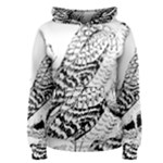Animal Bird Forest Nature Owl Women s Pullover Hoodie