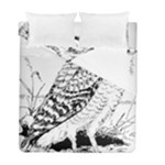 Animal Bird Forest Nature Owl Duvet Cover Double Side (Full/ Double Size)