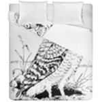 Animal Bird Forest Nature Owl Duvet Cover Double Side (California King Size)