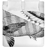 Animal Fish Ocean Sea Duvet Cover Double Side (King Size)