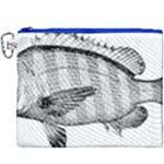 Animal Fish Ocean Sea Canvas Cosmetic Bag (XXXL)